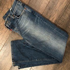 Lucky brand jeans, straight leg, size 14, cute!